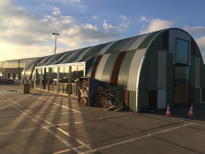 Hangar Amsterdam Romneyloods In Oude Stijl